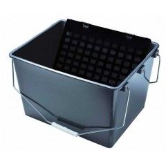 Cubeta plastico con rejilla 16L
