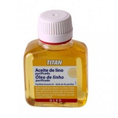 Titan Aceite de lino purificado