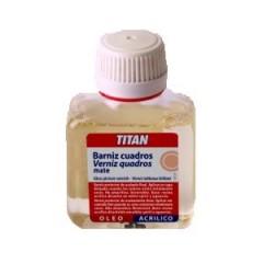 Barniz Titan Cuadros Mate