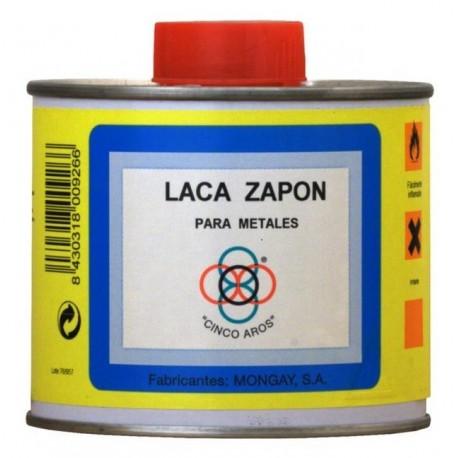 """Laca Zapón Para Metales """"Cinco Aros"""""""