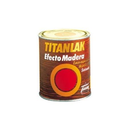 Titanlak satinado efecto madera