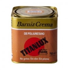 Barniz Titanlux crema poliuretano brillante