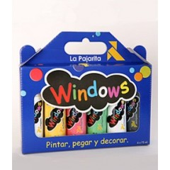 Windows pintura para cristal arrancable