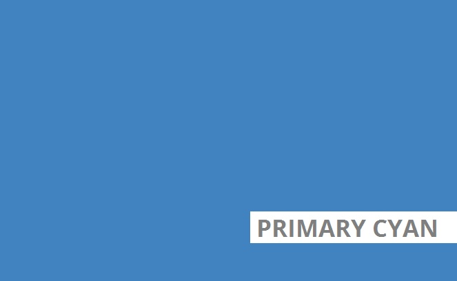 Primary cyan