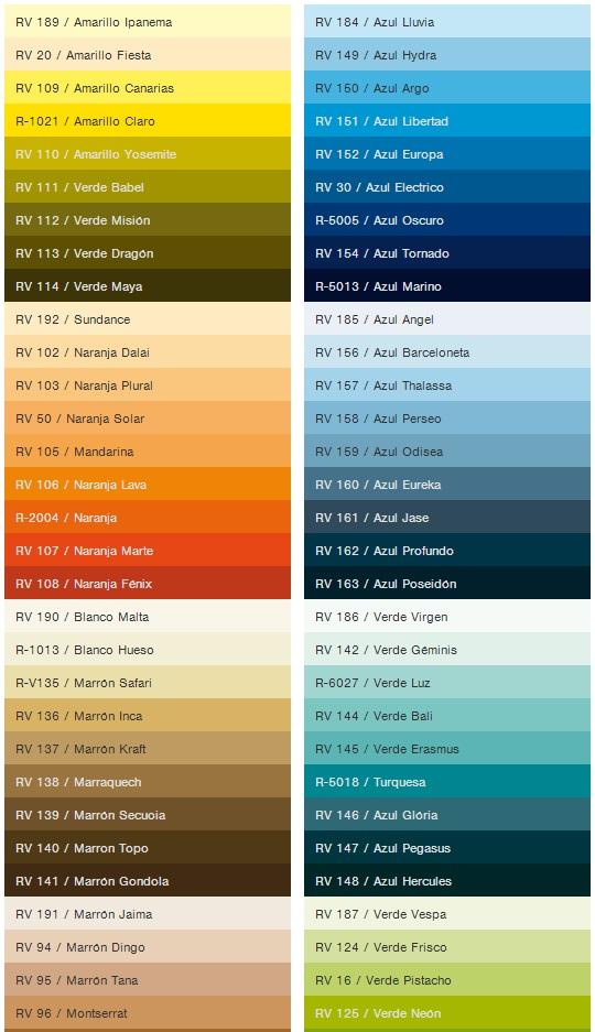 Colores spray  MTN 94