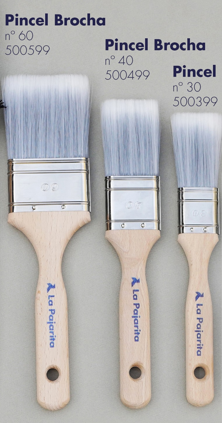 Pincel brochas para chalk paint