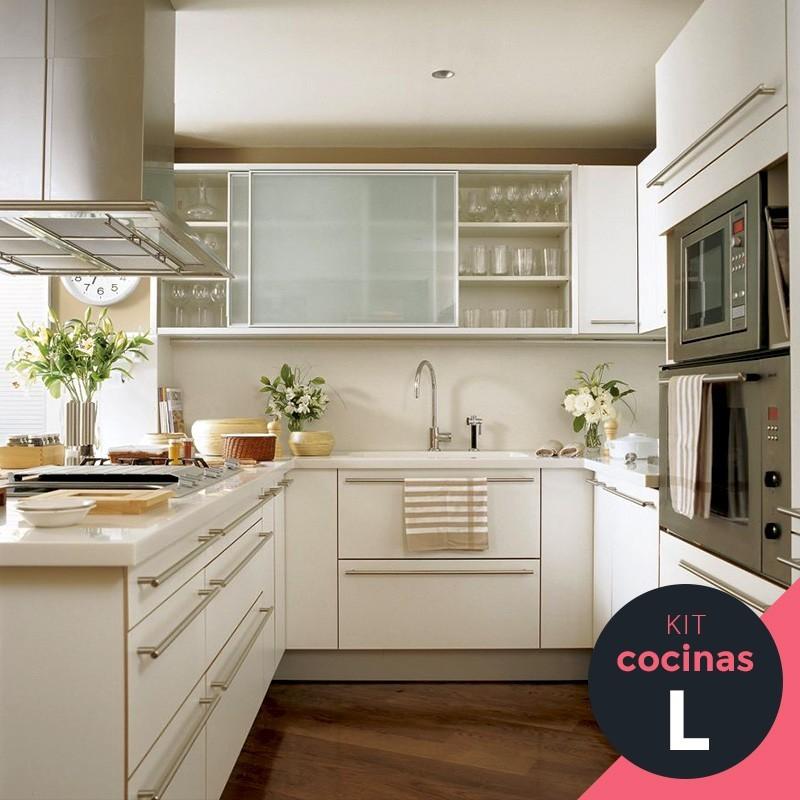 Kit cocinas de melamina - Cocinas en kit ...