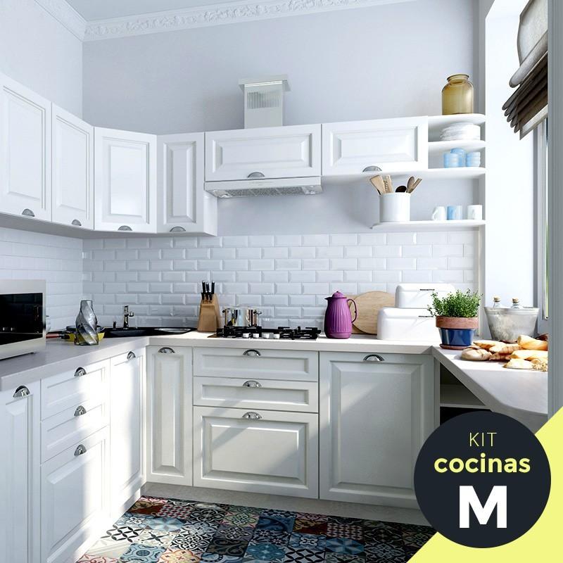 Kit cocinas de madera pintar sin parar superstore del color - Muebles de cocina en kit ...