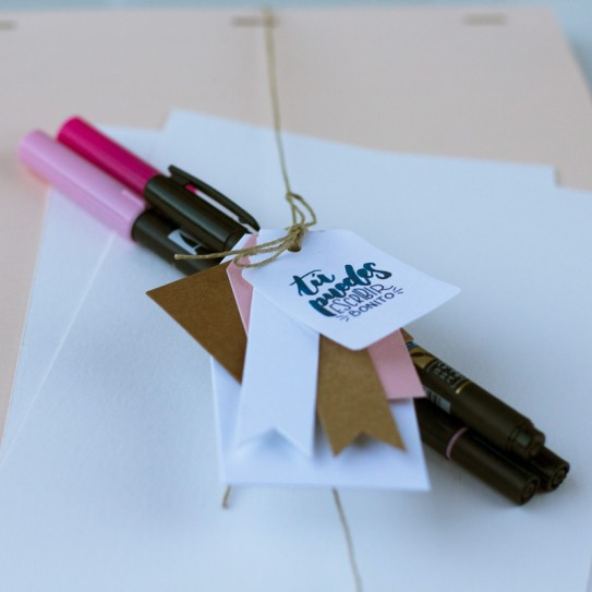 Kit de Iniciación al lettering