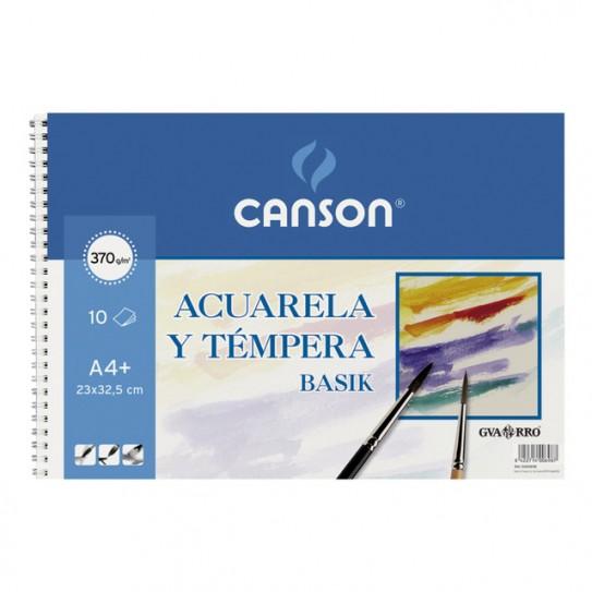 Bloc Acuarelas Canson