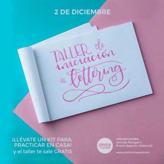 Curso de iniciación al Lettering (2 de Diciembre)