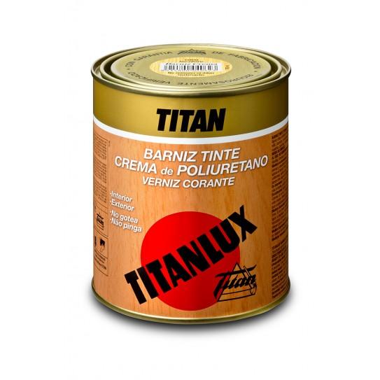 Barniz Titanlux crema poliuretano satinado