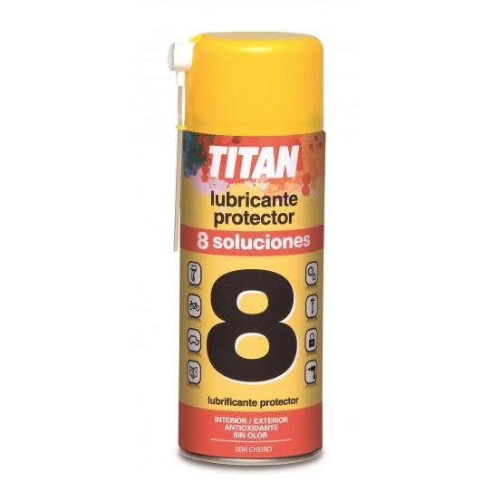 Lubricante Spray Titán 8 soluciones
