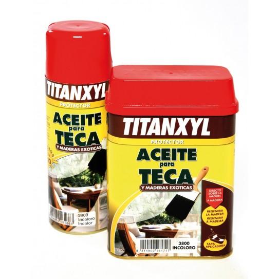 Spray Titan aceite para teca