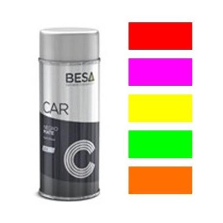 Spray pintura carrocería fluorescente (bicapa)