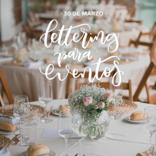 Curso de Lettering para eventos (30 de Marzo)