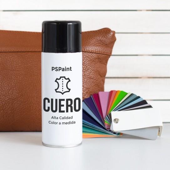 Spray pintura PREMIUM para cuero y polipiel