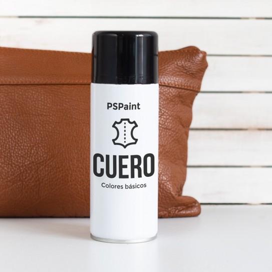 Spray pintura para cuero y polipiel