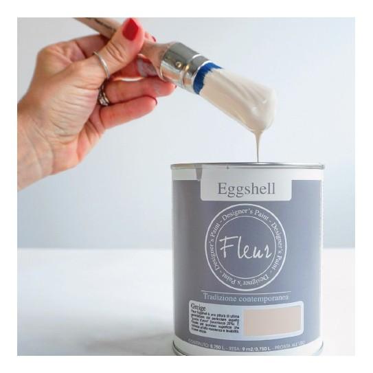 Eggshell Paint (Chalk con barniz)