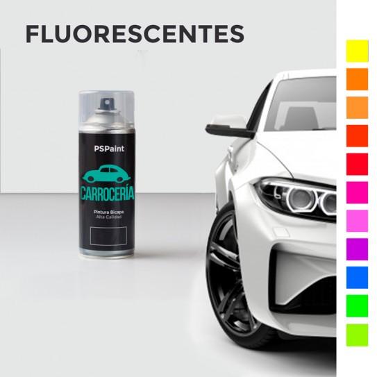 Spray pintura carrocería fluorescente bicapa