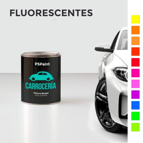 Pintura para carrocería fluorescente bicapa