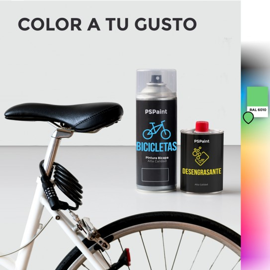 Kit Spray Pintura Premium Bike 2K