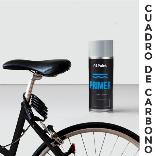 Spray imprimación cuadros de carbono