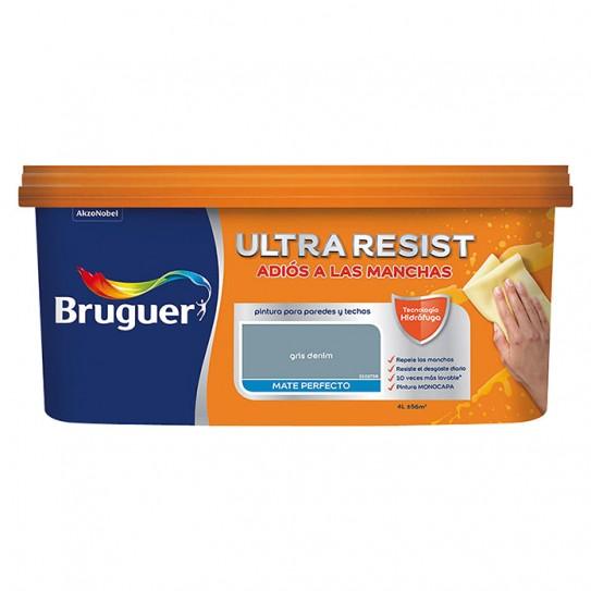 Pintura antimanchas Ultra Resist para paredes de Bruguer