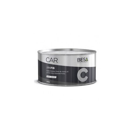 Masilla poliéster fibra de vidrio 2C Urkifib