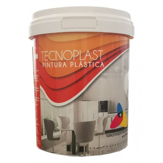Pintura para paredes Tecnoplast Alta cubrición 750ml