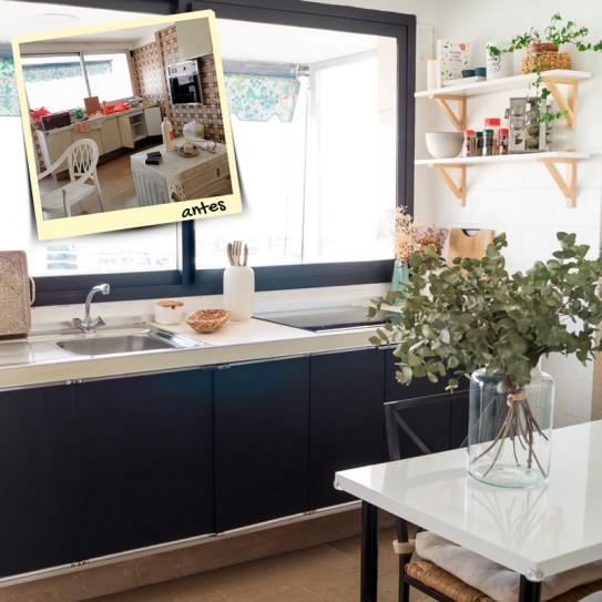 Reforma Low Cost y sin obras de tu cocina o baño.