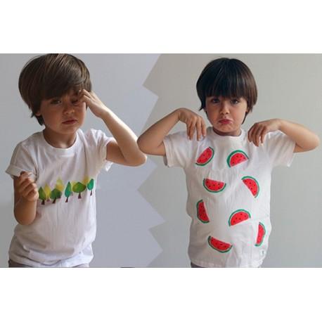 Taller día de camisetas para mamás y niños molones