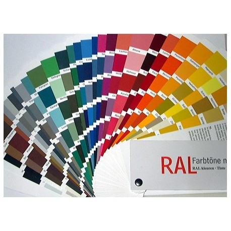 Carta de color RAL