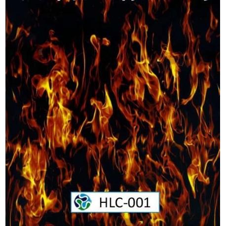 Film hidroimprimir diseños llamas y calaveras