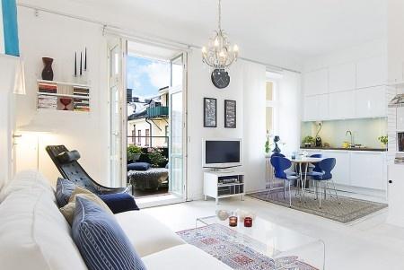 Ampliar el espacio con el uso adecuado de los colores for Decorar casa 45 m2
