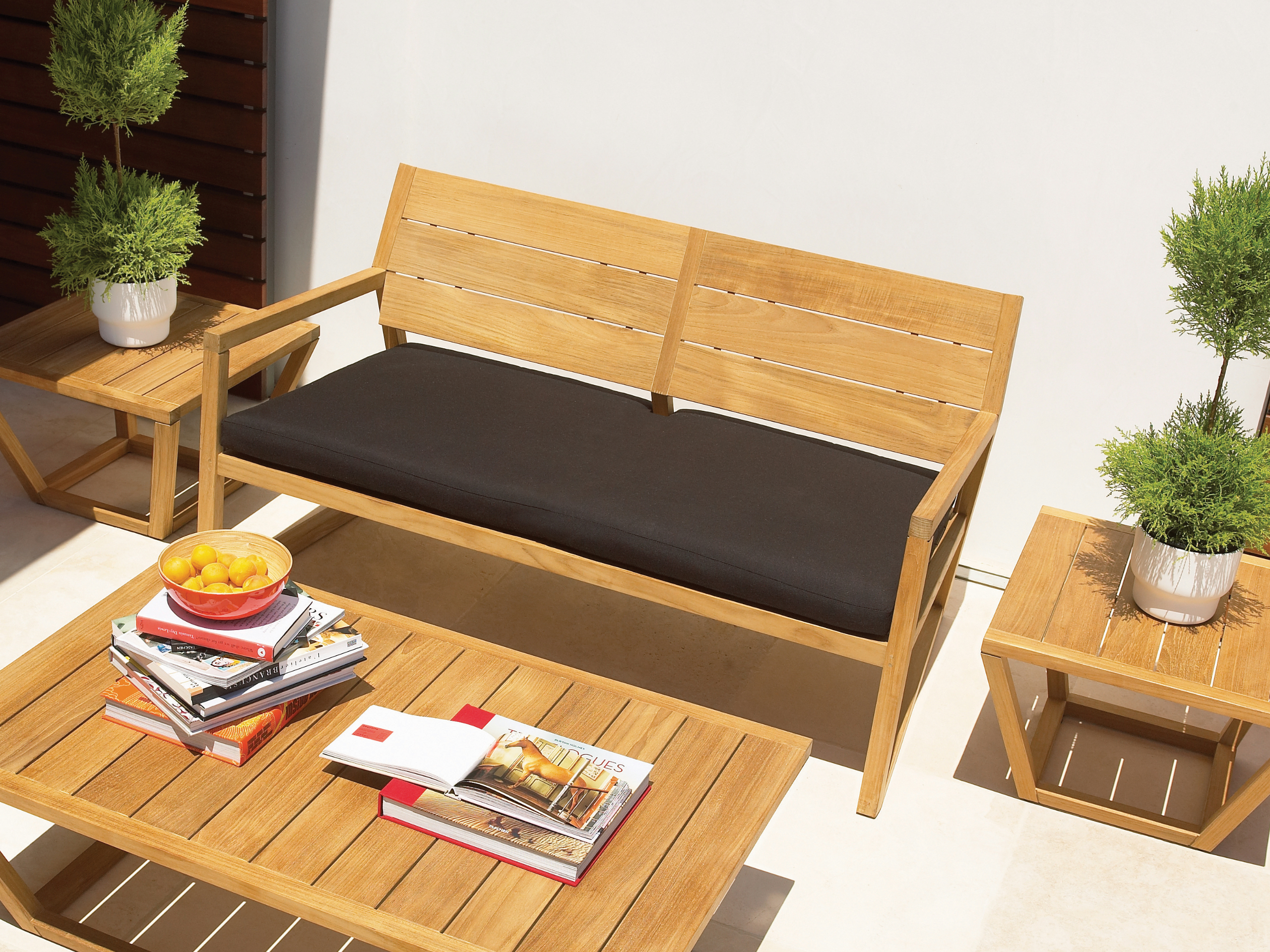 Tratamiento de los muebles de jard n - Muebles exterior madera ...