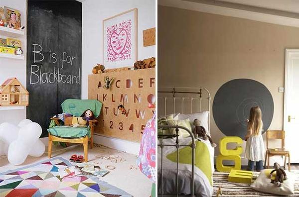 Consejos e ideas para decorar una habitaci n infantil - Pinturas originales para dormitorios ...