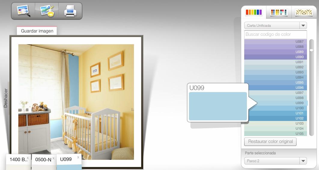 Simulador de ambientes de pintura - Pinturas bruguer simulador de ambientes ...