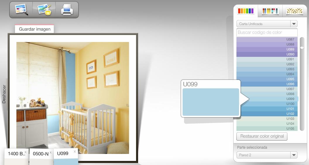 Simulador de ambientes - Simulador de colores para paredes ...