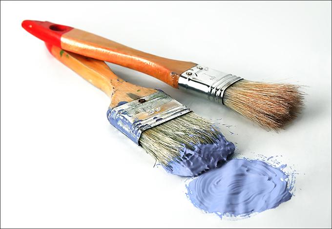 como limpiar brochas y rodillos