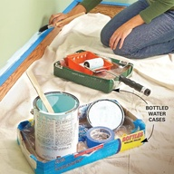 Reparar las paredes