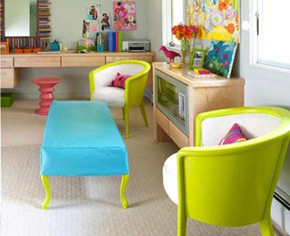 Pintura fluorescente y fosforescente para dar un toque neon a tu casa
