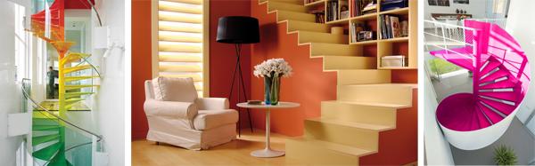 De qu color pintar cada habitaci n blog pintar sin parar - Como pintar una escalera interior ...