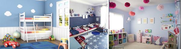 De qu color pintar cada habitaci n blog pintar sin parar for Como pintar una habitacion