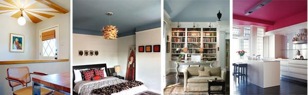 De qu color pintar cada habitaci n - Como pintar paredes y techos ...
