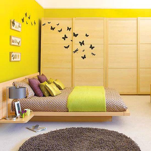 dormitorio armonico de color