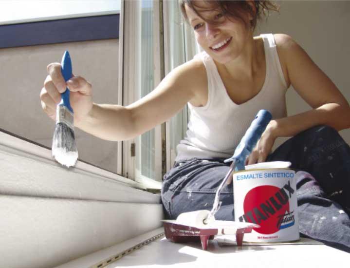 como pintar aluminio lacado