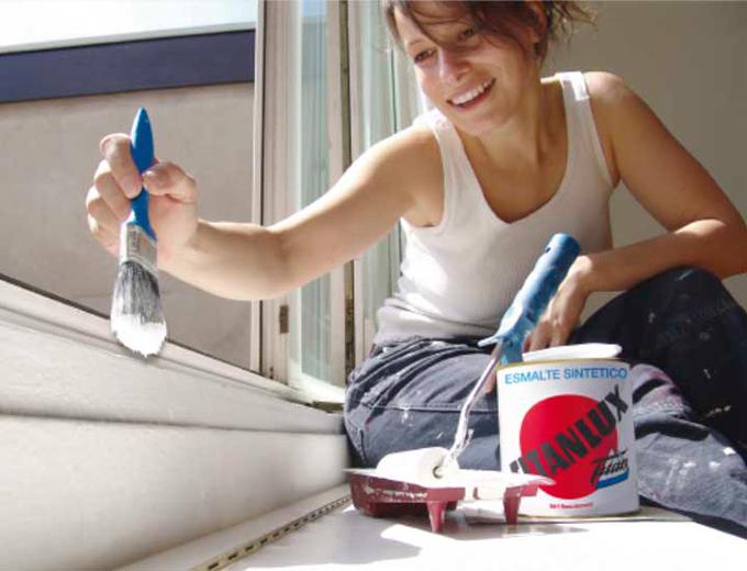 Aplicar pintura laca