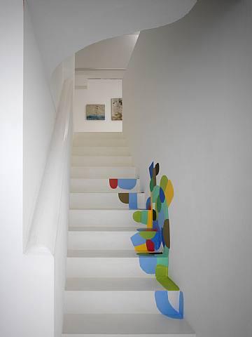 Ideas para escaleras con estilo originales y divertidas for Pinturas para paredes originales