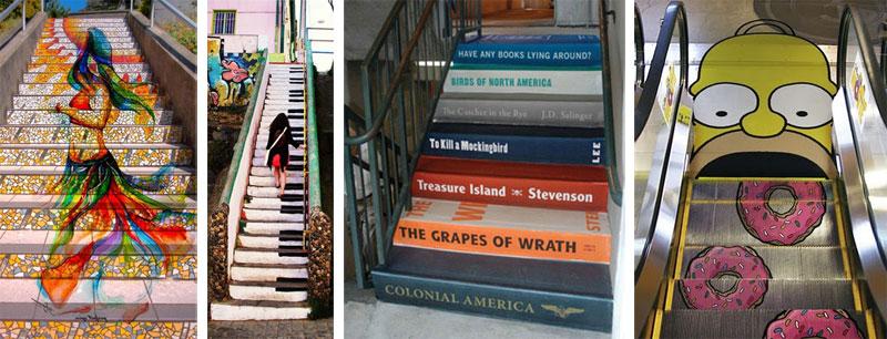 Escaleras con arte - Página 2 Escaleras-divertidas